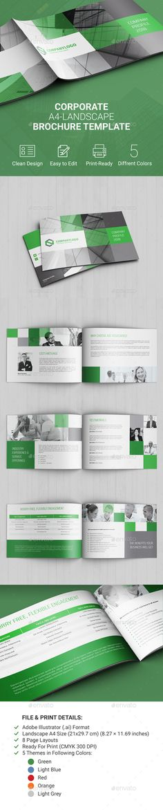 Corporate Landscape Brochure - Corporate Brochures