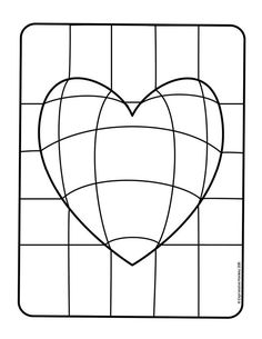 Make this Op Art Heart with step-by-step instructions. Send some Heart Art for Valentines. Op Art Lessons, Art Lessons Elementary, Bridget Riley Op Art, Optical Illusion Quilts, Optical Illusions, Classe D'art, Illusion Art, Art Classroom, Valentine Crafts