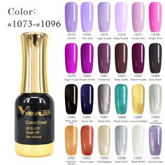 3.8$  Buy here - #60751  2017 New CANNI Nail Paint Gel 12ml 120 colors Gel Polish Nail Gel Soak Off UV Gel Polish   #buychinaproducts