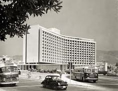 The Athens Hilton in the 1960'S #greece #hilton www.ploosdesign.com