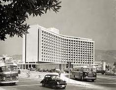 The Athens Hilton in the 1960'S #greece #hilton www.ploosdesign.com