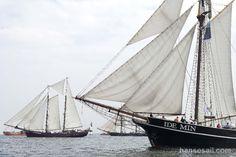 Sail away @ Hanse Sail Rostock.