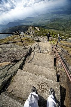 ❧ Whiteface Mountain is the fifth-highest mountain in New York State, and one of the High Peaks of the Adirondack Mountains, USA