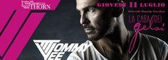Tommy Vee - a Rosà - Bassano del Grappa - La Casa dei Gelsi 11 Luglio 2013