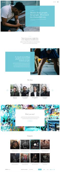Yours Magazine - About - Web UI