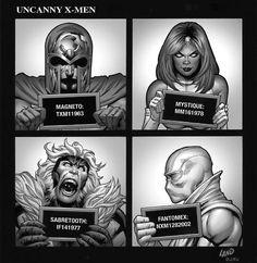 Uncanny X-Men Hip Hop variant