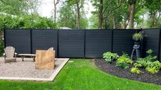 Enhance the value of your property with our Ezfence fencing system. Composite Fencing, Garden Screening, Garden Fencing, Outdoor Furniture Sets, Outdoor Decor, Fences, Outdoor Living, Grass, Luxury