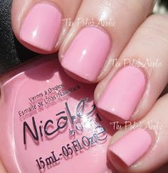 Nicole by OPI: At Least I Pink So