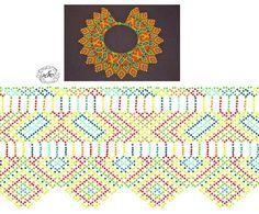 Bead Crochet Patterns, Peyote Patterns, Beading Patterns, Diy Necklace Patterns, Jewelry Patterns, Beading Techniques, Beading Tutorials, Bead Jewellery, Beaded Jewelry