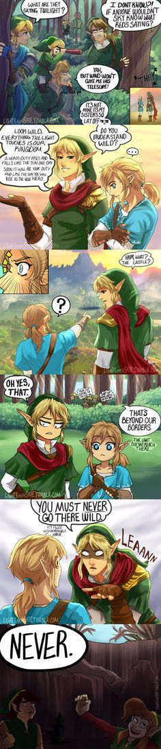 Link and The Links AU: Circle Of Tri