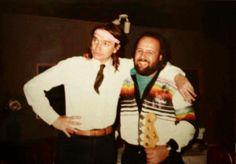 John F.Pastorius and Bass Player  Chuck Jacobs bass player after Jaco, for Wayne Cochran...