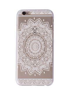 Lala Mandala iPhone Case
