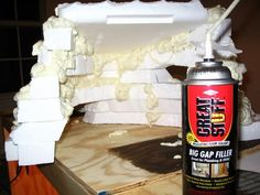 Bearded Dragon . org • View topic - Building a Fake Rock Cave with foam in 10 Easy Steps