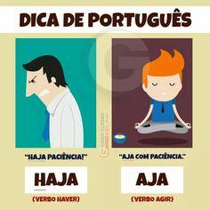 Dica da Língua Portuguesa: Haja x aja