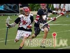 Amazing Lacrosse Top Corner Shot  Chris at the Adrenaline All American Game
