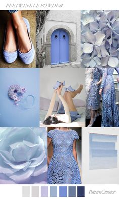 PERIWINKLE POWDER by PatternCurator