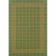 "Oriental Weavers Sphinx Lanai 880F6 1'8"" x 3'7"" Green / Beige Runner Area Rug by Oriental Weavers Sphinx. $22.50"