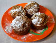 carrot-gingermuffins
