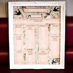 THIS is how to combine Star Wars and vintage chic in a wedding table plan! More Star Wars seating plan ideas at http://www.toptableplanner.com/blog/star-wars-wedding-theme