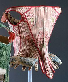 18th century corset dating between 1750 and 1775 Metropolitan Museum of Art