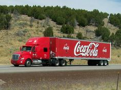 """""""My Dad waved at the driver of every Coca-Cola truck he'd see.""""  Love this!"""