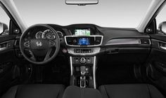 Fresh 2017 Honda Accord Sport Interior Wallpaper Gas prices will go up and sedans will be the best accepted car articulation in America again. Honda Accord 2015, Honda Accord Touring, Honda Accord Sport, My Dream Car, Dream Cars, Interior Wallpaper, Interior Photo, Vehicles, 2013 Honda