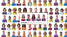 Playmaker: Soccer Illustrated Portraits #archives