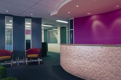 Reception Fitouts by Zircon Interiors Melbourne