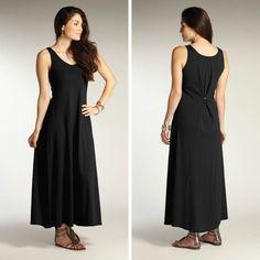 Womens Dress Black EZ Dress | Indigenous Organic, Fair Trade Fashion