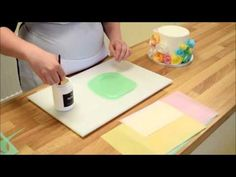 Simple Wafer Paper Flowers - YouTube