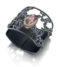 """Scatter"" bracelet by Shaya Durbin Jewelry Shop, Jewelry Art, Jewelry Gifts, Jewelery, Jewelry Drawing, Simple Jewelry, Minimalist Jewelry, Jewelry Organization, Bracelet Designs"