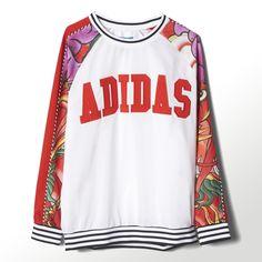adidas - Rita Ora Dragon Print Sweatshirt