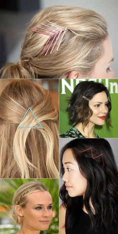 pinned hair styles III