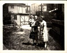 A personal favorite from my Etsy shop https://www.etsy.com/listing/270544359/vintage-photo-two-women-in-garden-with