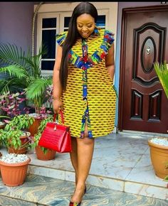 African Dresses For Kids, African Maxi Dresses, African Fashion Ankara, Latest African Fashion Dresses, African Print Fashion, African Attire, Ankara Dress Designs, Ankara Short Gown Styles, Ladies Day Dresses