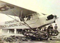 Storch, Do-27 , Piper y Cessna con tren de aterrizaje de oruga