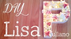 DIY Spring Floral Monogram Marquee Tutorial: https://www.youtube.com/watch?v=TxhjwoGZP70&feature=youtu.be