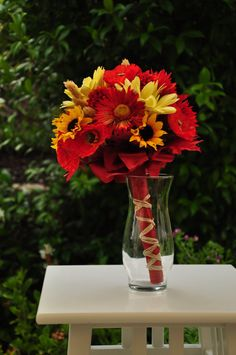 Fall bouquet for the wedding party by AlwaysElegantBridal on Etsy, $35.00