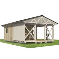 Garden Storage Shed Plans - Pin-Up Houses Shed Plans 12x16, Diy Shed Plans, Storage Shed Plans, Built In Storage, Building Costs, Building A Tiny House, Building A Shed, Blueprint Construction, Diy Shed Kits