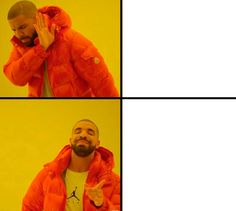 ✅Best Drake Meme Template Free - You Calendars Drake Meme, Spongebob Face, Memes Spongebob, Spongebob Patrick, Halloween Meme, Women Halloween, Funny Reaction Pictures, Funny Photos, Meme Pictures