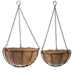 Tosnail PVC Coated Metal Traditional Hanging Basket Plant... https://www.amazon.com/dp/B01JG1I7IA/ref=cm_sw_r_pi_dp_x_gUVAyb4WQ66FM