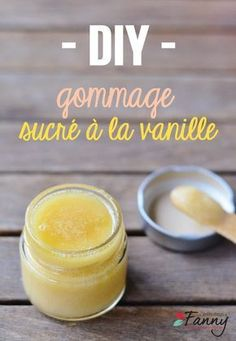 DIY – Gommage délicieusement sucré à la vanille Mason Jar Crafts, Mason Jar Diy, How To Make Paper, Make Up, Diy Beauté, Homemade Scrub, Diy Scrub, Little Presents, Homemade Cosmetics