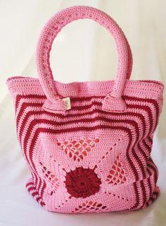 Bolsa de Crochê Canoa Quebrada