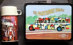 I had this one!  The Partridge Family Vintage Lunch Box  (1971 Antique Metal Lunchbox & Thermos).