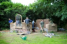 cob house | ... cob house or studio on our 4 day course - Edwards & Eve Cob Building