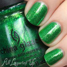 China Glaze Running In Circles #nailpolish swatch #nails via @All Lacquered Up