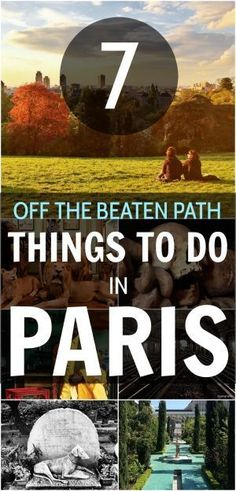 Off the Beaten Path: 7 Unusual Things To Do in Paris - https://nomadbiba.com/off-the-beaten-path-7-unusual-things-to-do-in-paris/