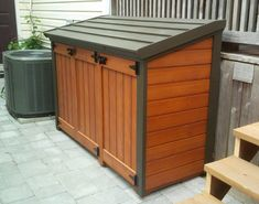 Free Plan Trash Can Shed Plans