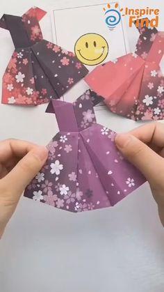 Diy Crafts Hacks, Diy Crafts For Gifts, Diy Home Crafts, Diy Arts And Crafts, Diy Crafts Videos, Fun Crafts, Creative Crafts, Handmade Crafts, Paper Crafts Origami