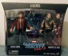 New Marvel Legends Guardians Of The Galaxy Vol 2 EGO & STAR-LORD 2 PACK!